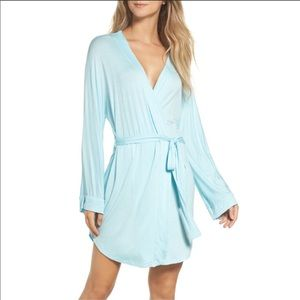 Something Blue Honeydew All American Jersey Robe
